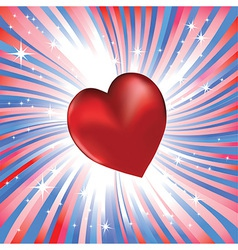 heart valentine day vector image