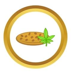 Marijuana seeds icon vector image vector image