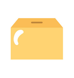 box carton packing icon vector image