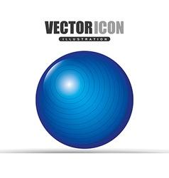Gym time design vector