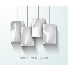 original 2015 happy new year modern background vector image