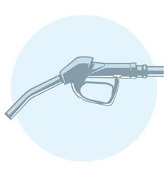 outline filling gun vector image