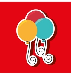 party pumps design vector image