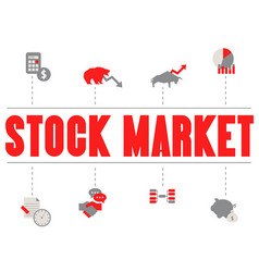Stock market concept stock market concept vector