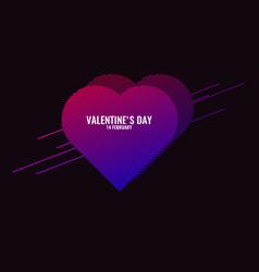 valentines day february 14 original vector image