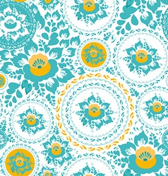 Vintage shabchic seamless ornament pattern vector
