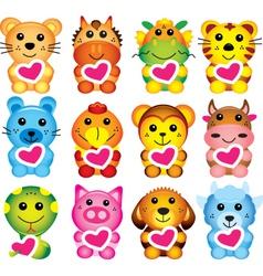 Chinese Animal Zodiac vector image vector image