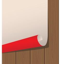 poster wooden texture vector image