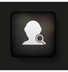 Search button vector