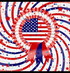 4th july celebration vector image vector image