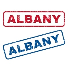 Albany Rubber Stamps vector image vector image