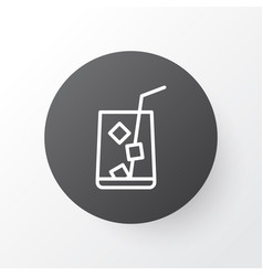 lemonade icon symbol premium quality isolated vector image