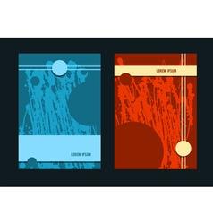 Brochure Layout design template vector image