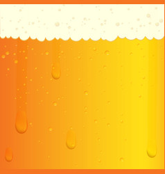Cold beer texture vector