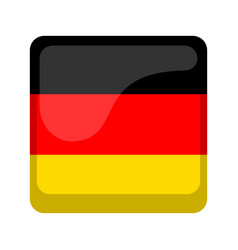 Empty germany campaign button vector