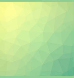 Fresh summer lime polygonal background vector