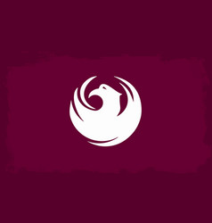 Phoenix city flag vector