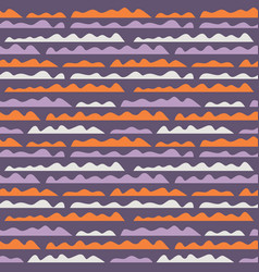 Waves seamless pattern abstract geometric vector