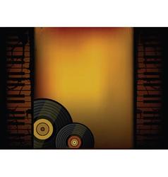 piano music retro vector image vector image