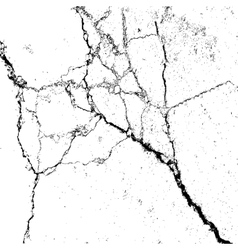 Abstract background cracks on the surface vector image