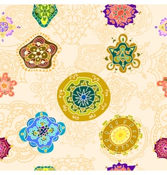 Tracery pattern and background vector