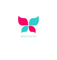 with Butterfly symbol vector image vector image