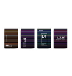 abstract covers design gradient creative vector image