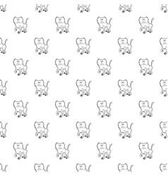 Baboon pattern seamless vector