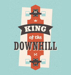 King of the downhill vector
