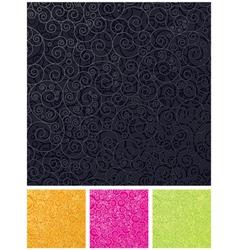 ornamental design backgrounds vector image