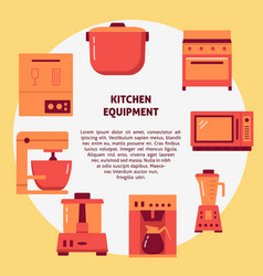 professional restaurant equipment concept banner vector image
