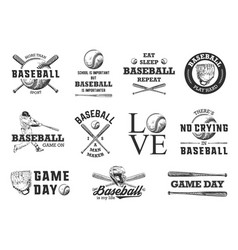 set 11 engraved style for posters decoration vector image