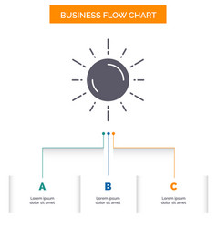 sun space planet astronomy weather business flow vector image