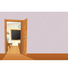 school llustration with copy space for your text vector image vector image