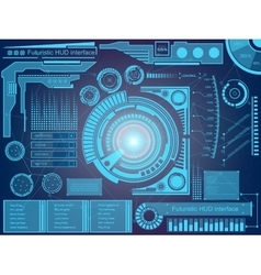Abstract future concept futuristic virtual vector