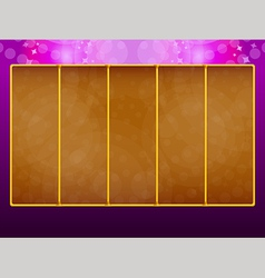 Background for slots game vector