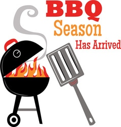 BBQ Season vector image