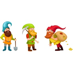 dwarf set vector image