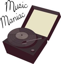 Music Maniac vector