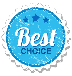 Best choice grunge stamp vector image
