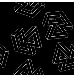 Geometric seamless simple monochrome minimalist vector