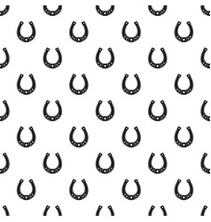 Horseshoe pattern vector