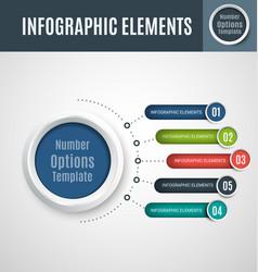 infographic element set6 vector image