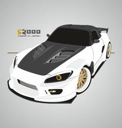 S2000 White vector