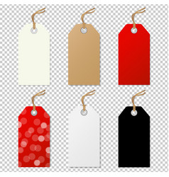 Sale tags collection vector