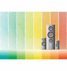 speaker 4 design vector image vector image