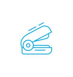 stapler linear icon concept stapler line vector image