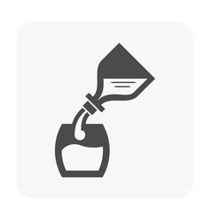 Water and health icon vector