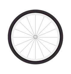 Wheel bike tire vector