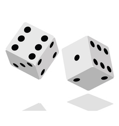 dices background vector image vector image